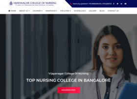 vijayanagarcollegeofnursing.com