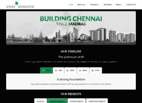 vijayshanthibuilders.com