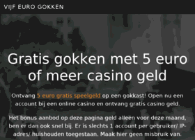 vijfeuromarkt.nl