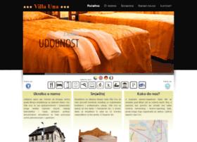 villa-una.com