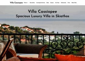 villacassiopee.com
