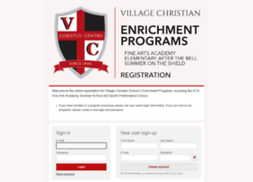 villagechristian.campbrainregistration.com