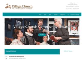 villagechurchcommunitytheater.org
