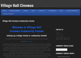 villagehallcinemas.co.uk