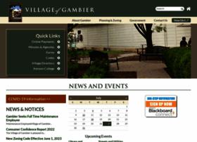 villageofgambier.org