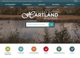 villageofhartland.com
