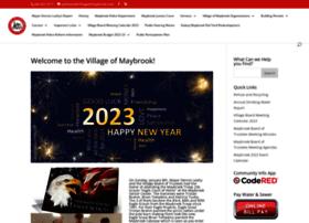 villageofmaybrook.com