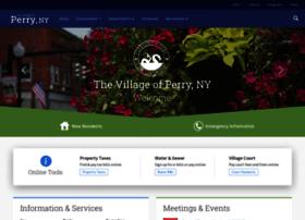 villageofperry.com
