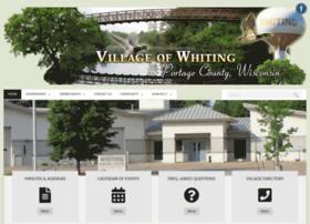 villageofwhiting.org