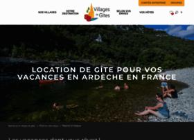villagesdegites-ardeche.com