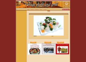 villagesushiandgrill.com