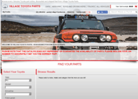villagetoyotaparts.com
