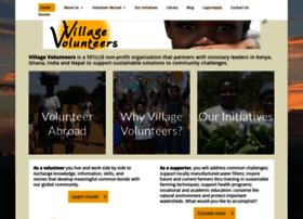 villagevolunteers.org