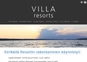 villaresorts.fi