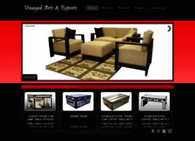 vinayakartsandexports.com