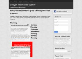 vinayakinformatics.blogspot.com