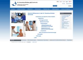 vincentius-kliniken.de