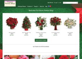 vincesflowershop.com