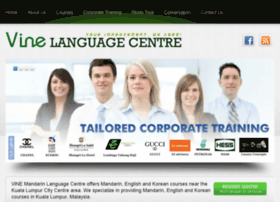 vinelanguagecentre.com