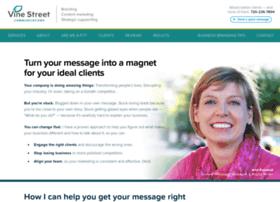 vinestreetcommunications.com