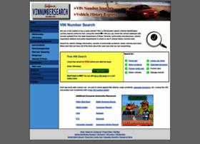 vinnumbersearch.net