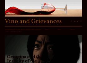 vinoandgrievancesblog.com