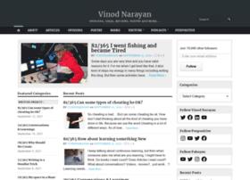 vinodnarayan.com