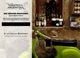 vinotecaargentina.com