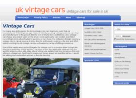 vintage-cars-for-sale-uk.com