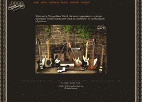 vintagebassworld.com