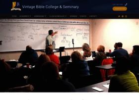 vintagebiblecollege.org