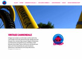 vintagecannondale.com