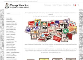 vintagemetalart.com
