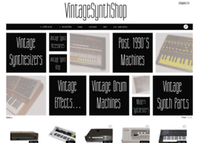 vintagesynthshop.com