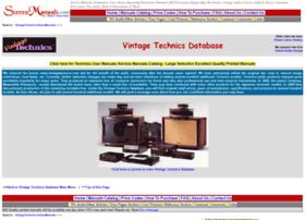 vintagetechnics.stereomanuals.com