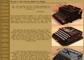 vintagetypewritershoppe.com