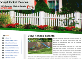 vinylpicketfences.ca