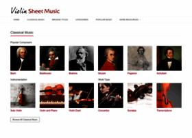 violinsheetmusic.org