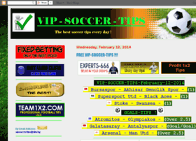 vip-soccer-tips.blogspot.com Visit site