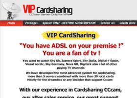 vipcardsharing.com