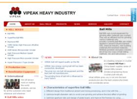 vipeakballmill.com