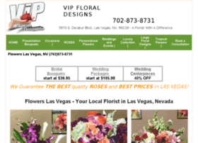 vipfloraldesigns.com