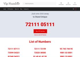 vipnumberonline.com
