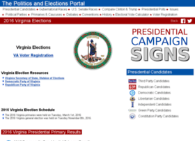 virginia.state-election.info