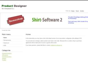virtuemart2.shirt-software.de