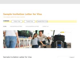 visa.sampleinvitationletter.info