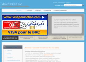 visapourlebac.com