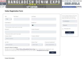 visitor.bangladeshdenimexpo.com