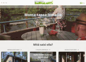 visitrauhalahti.fi