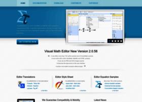 visualmatheditor.equatheque.net
